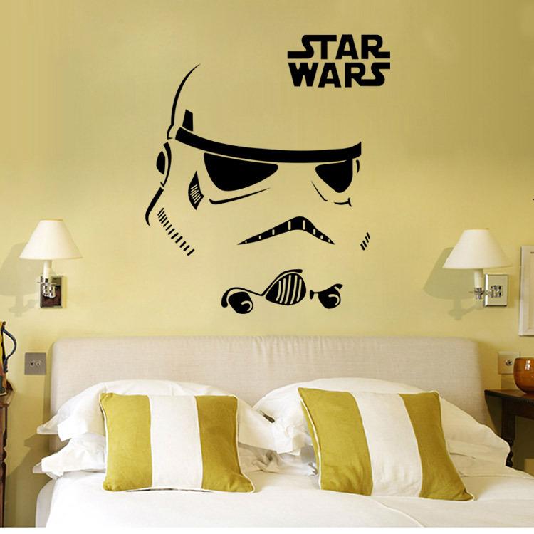 Slaapkamer Ontwerpen Gratis : Star Wars Wall Decals for Kids Rooms