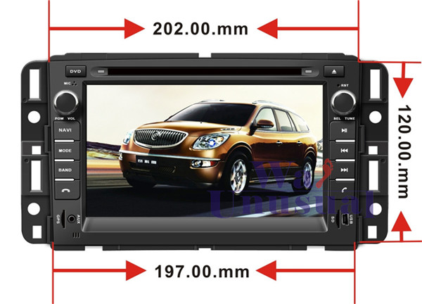 HD 7'' Pure Android 5.1.1 Car DVD Player for Chevy Tahoe for Buick Enclave for Chevy Suburban for CHEVROLET Suburban 2007-2012(China (Mainland))