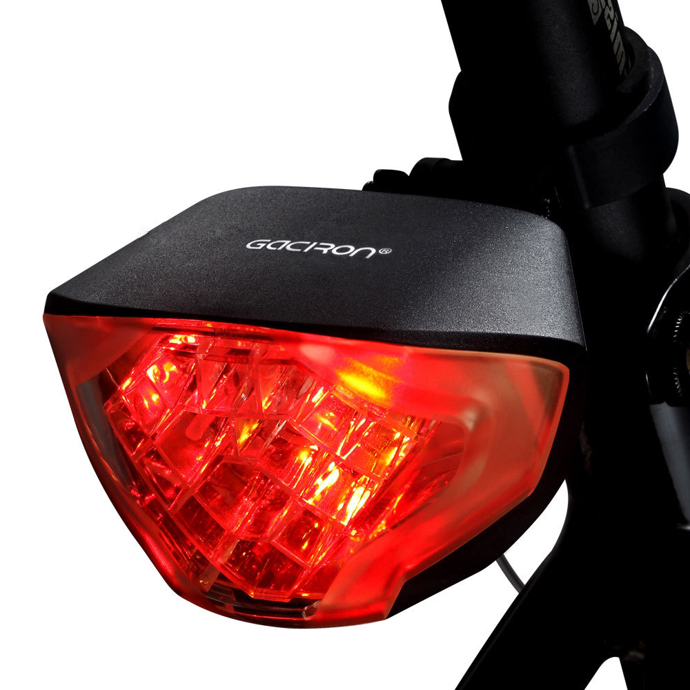 Gaciron Super Bright Rechargeable Smart/intelligent Bicycle/bike Taillight/tail Light/rear Light W02 for Biking(China (Mainland))
