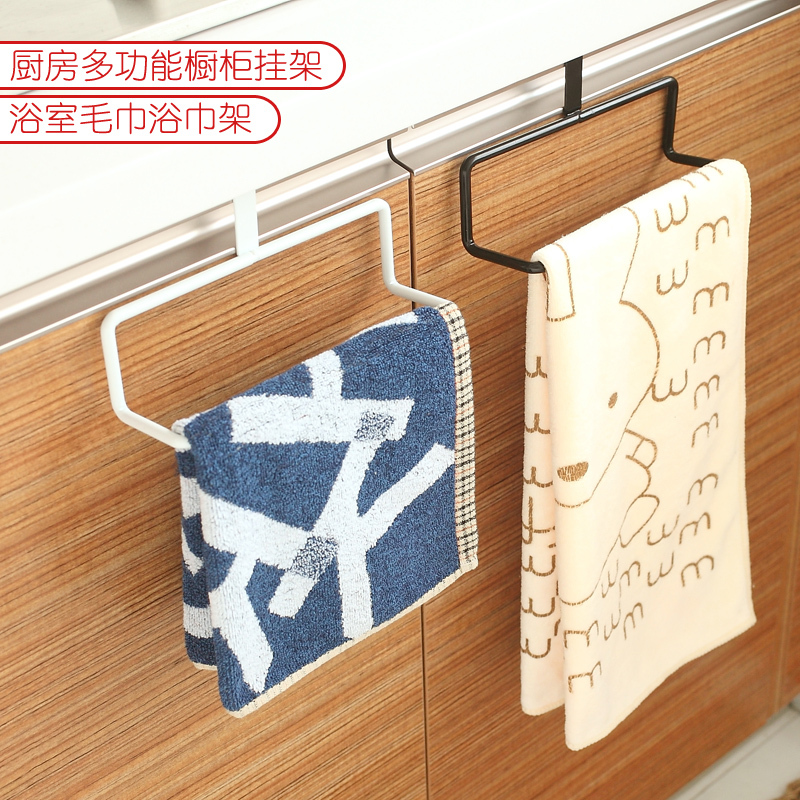 purpose back door bathroom towel rack kitchen cabinets cloth rack
