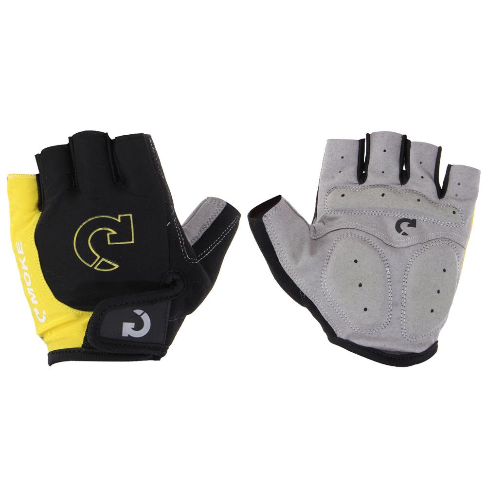 Motorcycle gloves half finger - Super Unisex Cycling Gloves Men Sports Half Finger Anti Slip Gel Pad Motorcycle Mtb Road Bike Gloves S Xl Bicycle Gloves Yellow