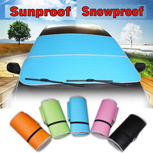 Accessories Car Windshield Window Cover Snow Ice Frost Visor Shade Sunshade Sunscreen Windscreen(China (Mainland))