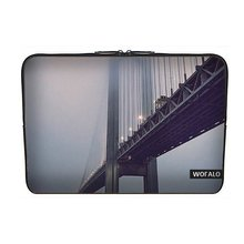 p Sleeve Case Bag Cover Neoprene for Macbook/Netbook/Laptop/ Notebook/ Ultrabook Between the two sides across the bridge(China (Mainland))