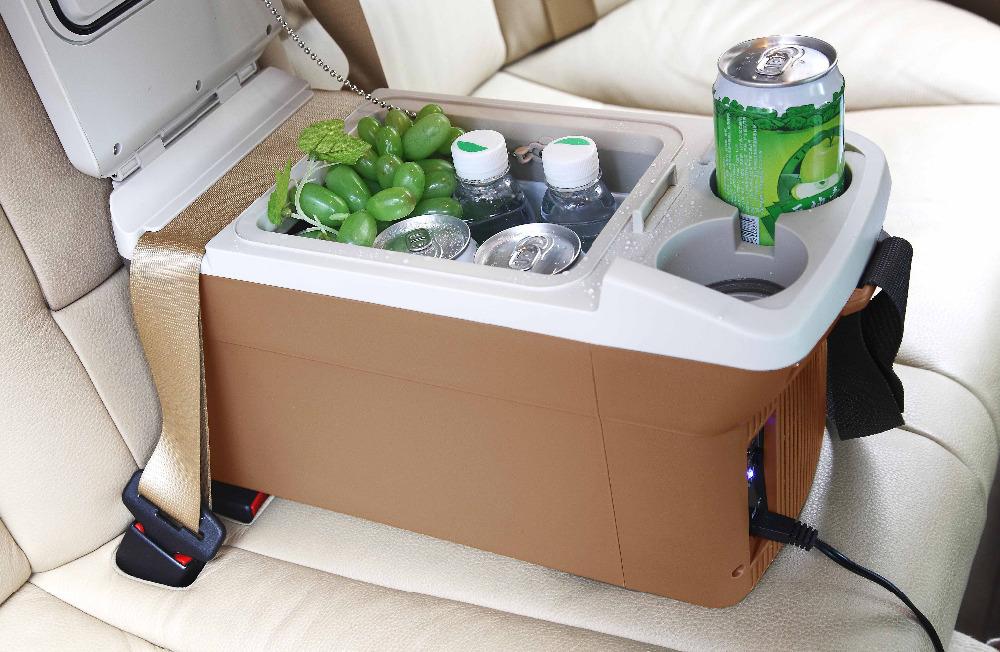 12v 9L Portable Mini Car Refrigerator Geladeira Fridge Nevera Portatil Insulin Cooler Box For Trucks Car Electronics(China (Mainland))