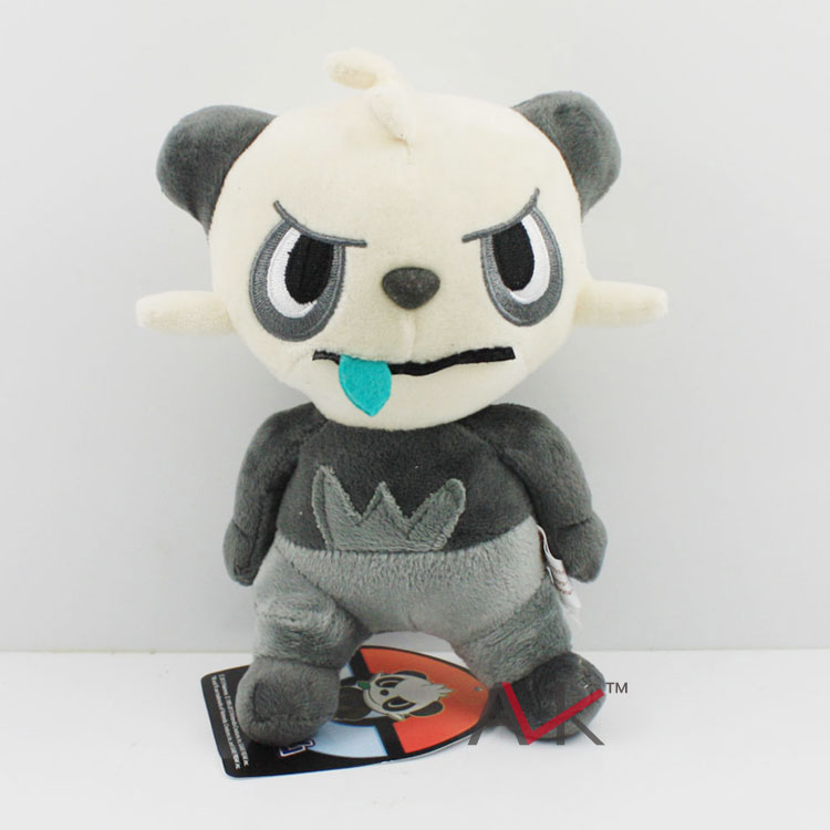 17cm Anime Pokemon Naughty Bear Plush Toys Pocket Monster Animals Soft Stuffed Dolls Kids Christmas Gift High Quality KT1126(China (Mainland))