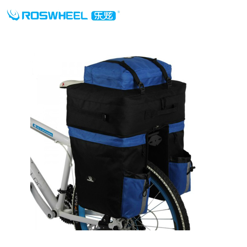 ROSWHEEL High-capacity 67L Outdoor Sports Cycling Travel Pack Doite Two In One Bike Rear Seat Bag,Bicycle Accessories,2Colors(China (Mainland))