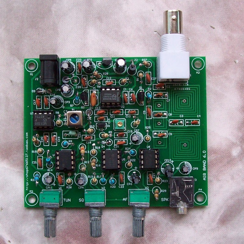 1pcs 118MHZ ~ 136MHZ aviation band receiver High sensitive air radio(China (Mainland))