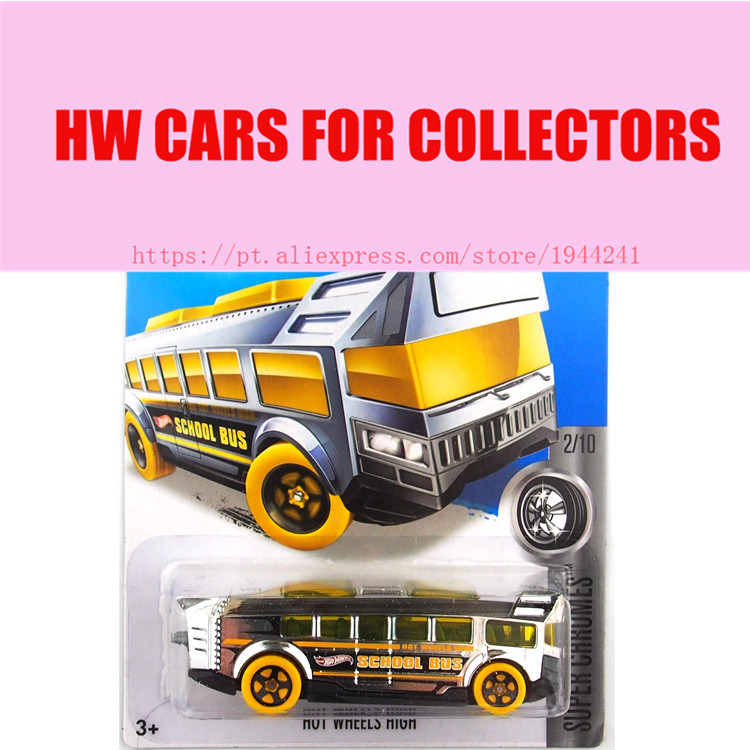 Hot Sale Hot 1:64 cars Wheels 2016 school bus cars Models Metal Diecast Car Collection Kids Toys Vehicle For Children Juguetes(China (Mainland))