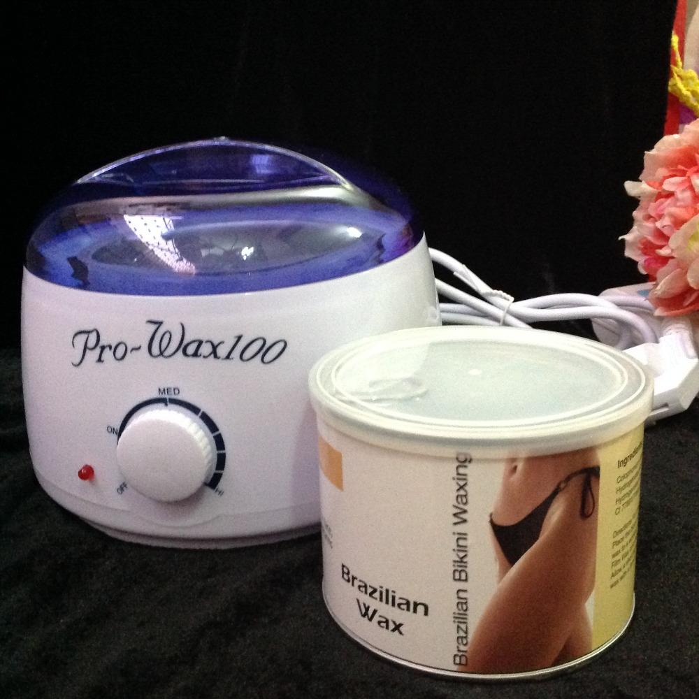 Hair Removal Machine Set 110V / 220-240V Quality Brazil Depilatory Wax 400g Free Paper Body / Bikini / The Hands /Feet Shaving(China (Mainland))