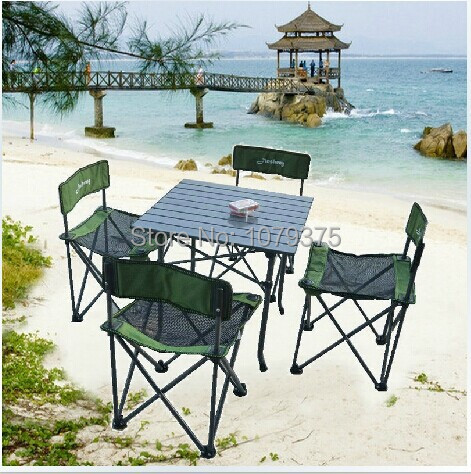Free shipping garden furniture outdoor furniture folding furniture garden set camping chair,folding table,folding chair(China (Mainland))
