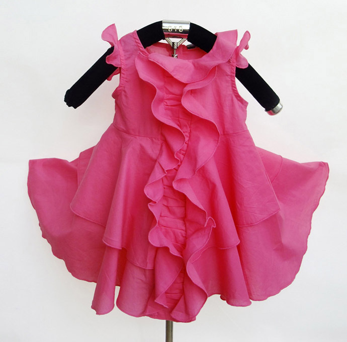 Little Girls Designer Clothes Cheap girls dress summer little girl