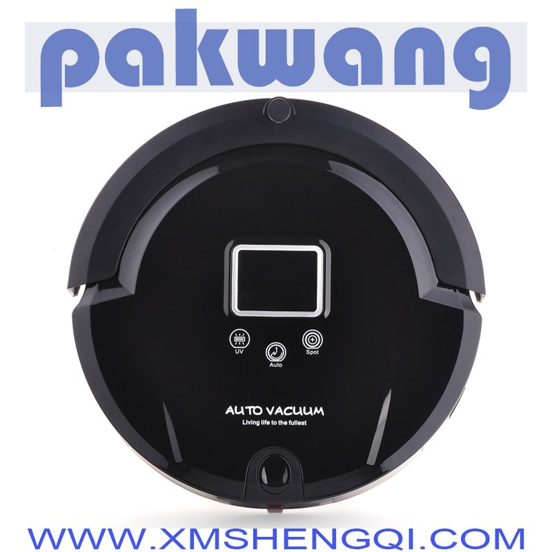 Low Noise Fast Delivery Bagless intelligent robot vacuum cleaner
