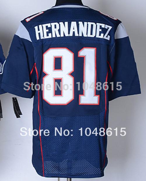 Sale Cheap American New England football jersey#81 Aaron Hernandez Jersey,Men's authentic Elite throwback Football Jerseys(China (Mainland))