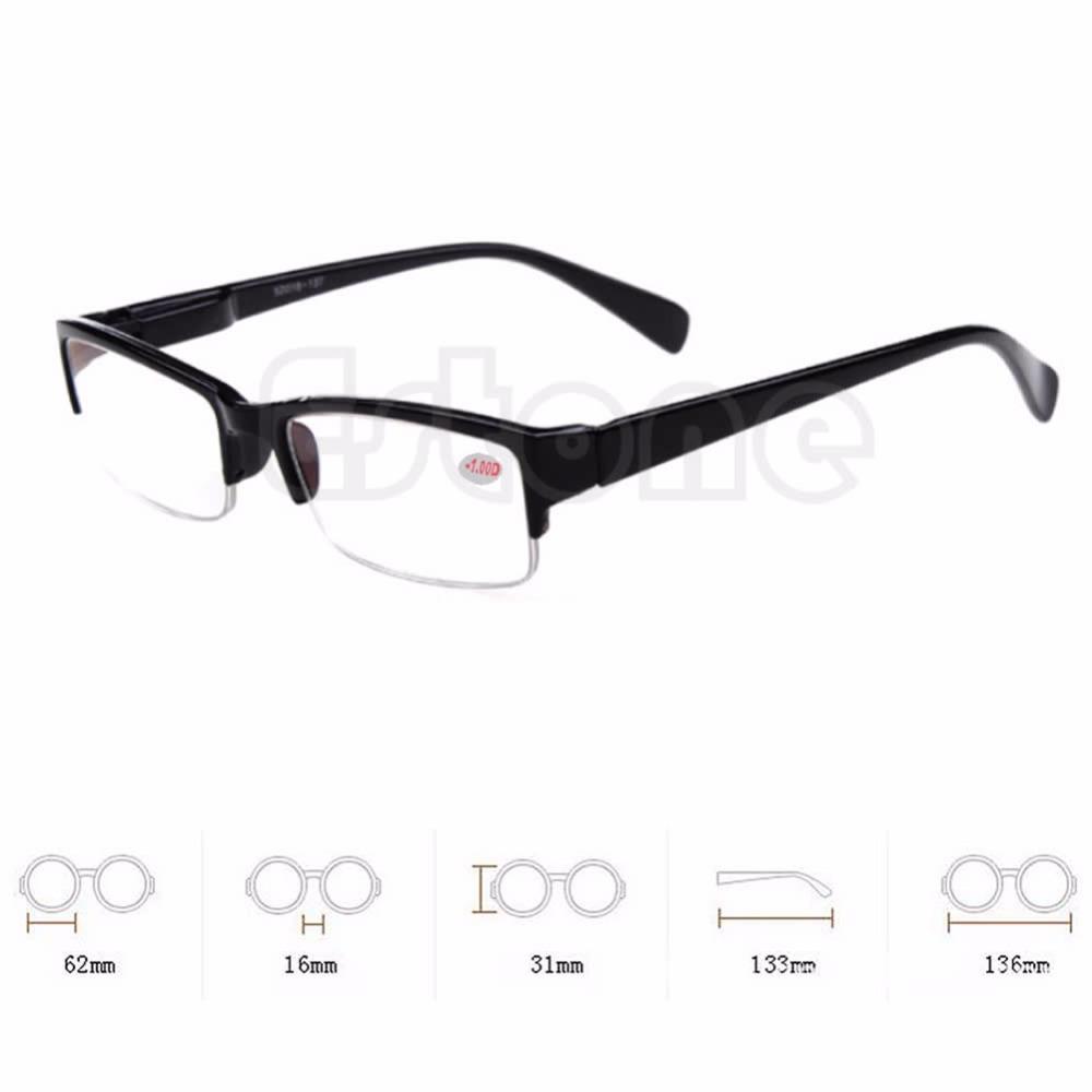 New Black Frames Semi-rimless Eyeglass -1 -1.5 -2 -2.5 -3 -3.5 -4 Myopia Glasses Free Shipping