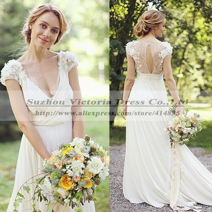Cheap Hippie Wedding Dresses Boho Wedding Dress Vestido