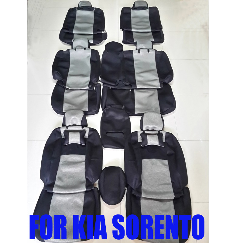 custom car seat covers for kia sorento car covers seat interior accessories sandwich car styling. Black Bedroom Furniture Sets. Home Design Ideas