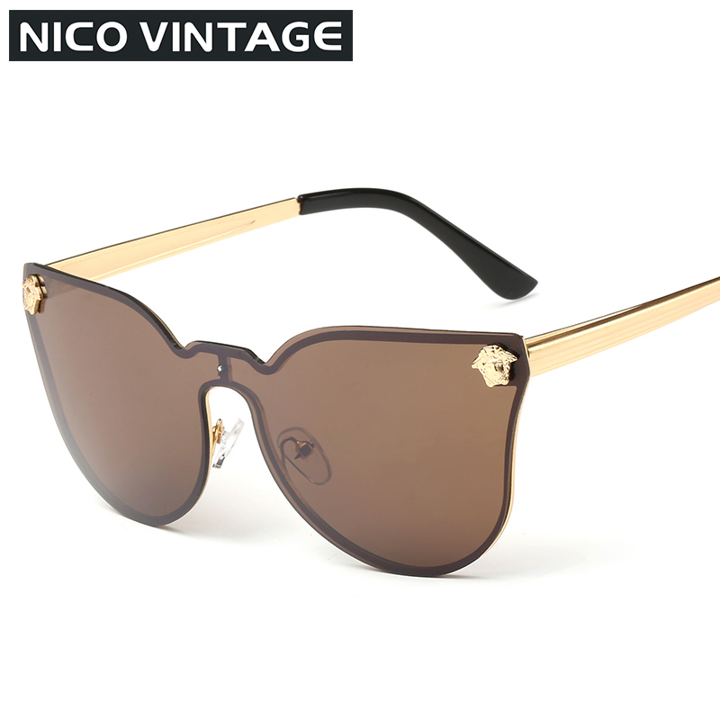 Gold Frame Rimless Glasses : Rimless Sun Glases Men Gold Frame Mens Sunglasses Brown ...