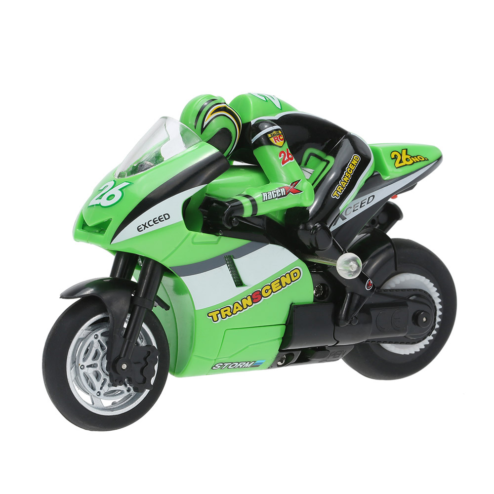 100% Original Toys 8012 1/20 2.4GHz RTR Radio Controlled Mini RC Motorcycle Super Cool Toy Stunt Car for Kids(China (Mainland))