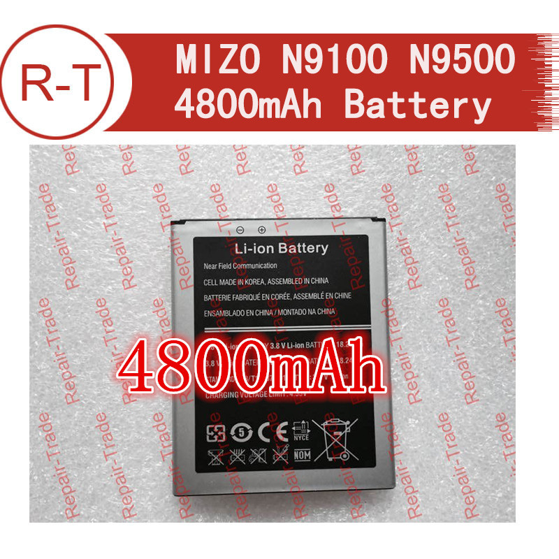 MIZO N9100 N9500 battery 4200mAh large capacity Li-ion Battery Replacement for MIZO N9100 N9500 Smart Phone+free shipping(China (Mainland))