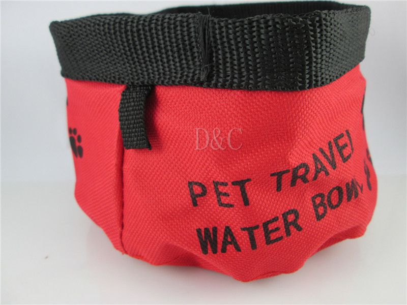 whole sales new 2014 Dogs Pet Fashion Feeding Water outdoor fun & sports pet dog bowl(China (Mainland))