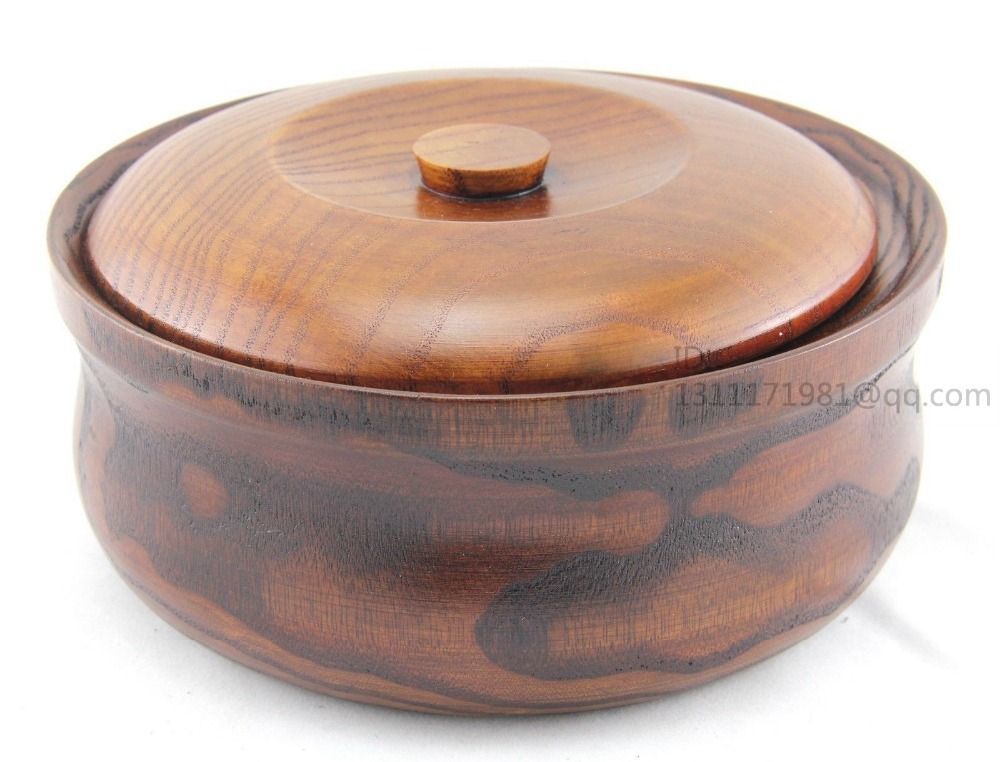 Top woodworks wooden bolws rice fruits salads snacks