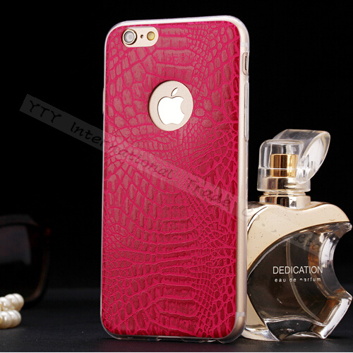 Wholesale Price High Quality Soft TPU Snakeskin Pattern Case Cover For Apple iPhone 6 iPhone6 4.7'' Cases Phone Shell PNK KKR SP(China (Mainland))