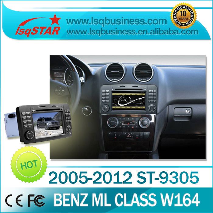 LSQ Star Mercedes-Benz ML350/ ML320/ ML300/ ML W164 Car DVD with GPS Navigation with full functions hot selling(China (Mainland))