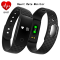 2016 Hot Bluetooth 4 0 ID107 Smart Bracelet Heart Rate Monitor Wristband Fitness Tracker for Android