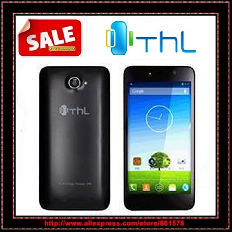 Free shipping original THL W200 quad core 5.0inch 1280*720 IPS screen 1GB RAM 8GB ROM MTK6589 GPS 3G Unlocked Cell phone /Anna(Hong Kong)