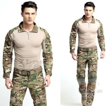 Buy Tactical Combat Uniform Gen3 shirt+pants Military Army Pants with knee pads Size XS-XXL ATACS for $53.25 in AliExpress store