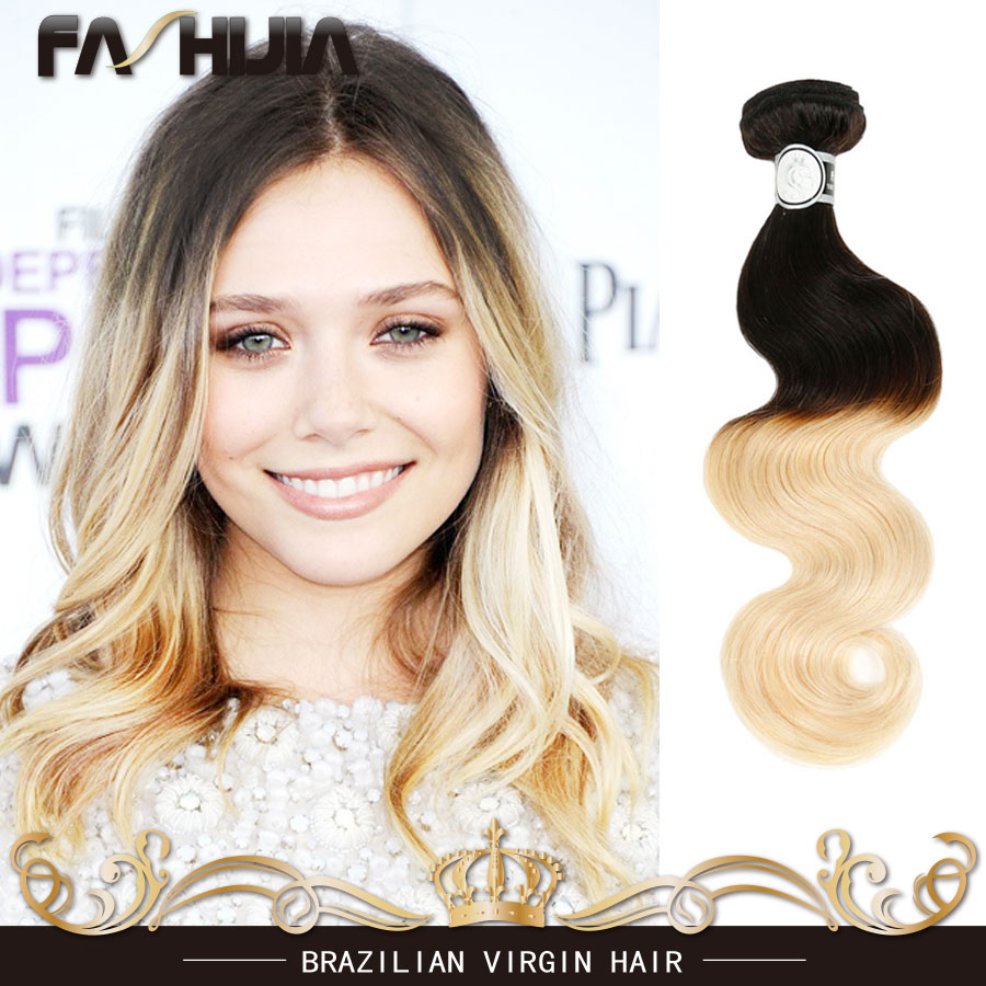 Ms Lula Hair Company Body Wave Cheap Brazilian Hair 4 Bundles Ombre Hair Extensions 1b 613# 7a Brazilian Virgin Hair Body Wave<br><br>Aliexpress