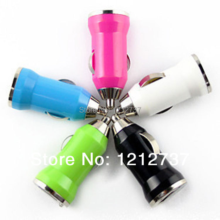 Mini USB Bullet car charger apple iphone 6 6s plus 5 5s 5c 4s 4 iPod mp3 sumsung lenovo huawei sony lg xiaomi mobile phone - Dragon Team store