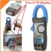 HoldPeak HP-870N Auto Range DC AC Digital Clamp Meter Multimeter Pinza Amperimetrica Amperimetro True RMS Frequency Backlight