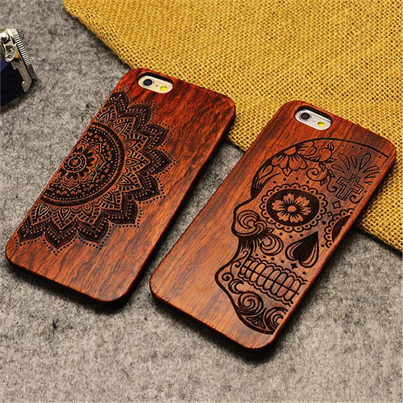 Гаджет  Retro PC+Wood Skull Case for iPhone 5 5S Novetly Vintage Case Cover for iPhone None Телефоны и Телекоммуникации