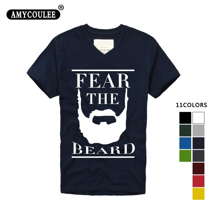 Fashion Design T shirt print James Harden Fear the Beard Mens & Womens Baseball T Shirt Custom T Shirt camisetas hombre tshirt(China (Mainland))
