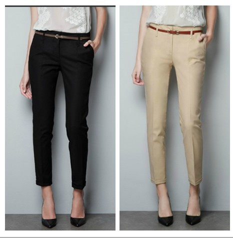 black working pants for women - Pi Pants