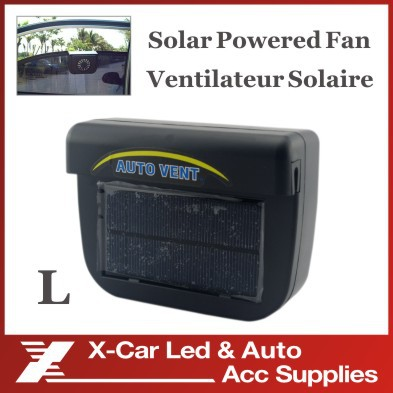 Solar Power Car Auto Cool Air Vent With Rubber Stripping car ventilation Fan Freeshipping Wholesale