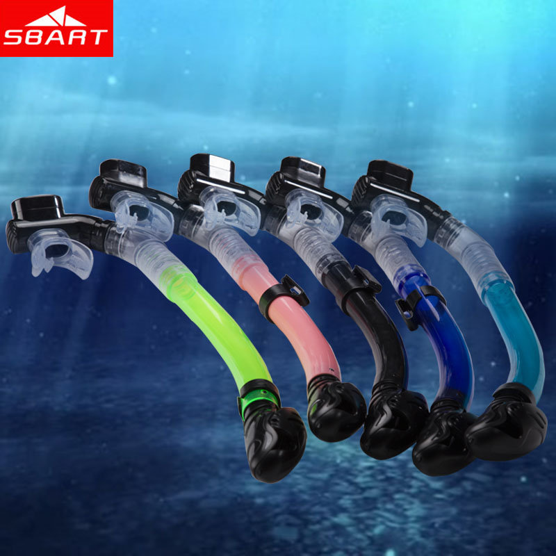 SBART Dry Snorkel Diving Equipement Adult Snorkeling Tube For Swimming Tubo Frontal Natacion Silicone Safe High Quality Brand N(China (Mainland))