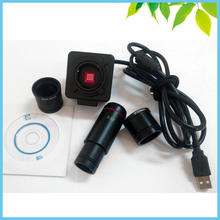 5MP Biological Stereo Microscope Electronic Eyepiece USB Video CMOS Camera Industrial Eyepiece Camera with 0.5X C Mount(China (Mainland))
