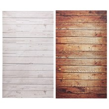 3x5ft Wood Grain Photography Background For Studio Photo Props Thin Photographic Backdrops 90 x 150cm Brown White