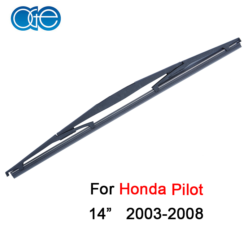 OGE Rear Windscreen Wiper Blade No Arm For Pilot 2003-2008 14'' 350mm,1 piece,natural rubber,car accessaries B1-35(China (Mainland))