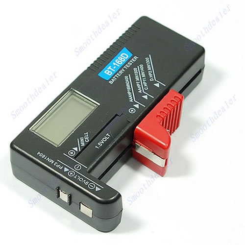 Free Shipping Digital Battery Tester Checker for 1 5V and AA AAA Cell dropshipping PY PY
