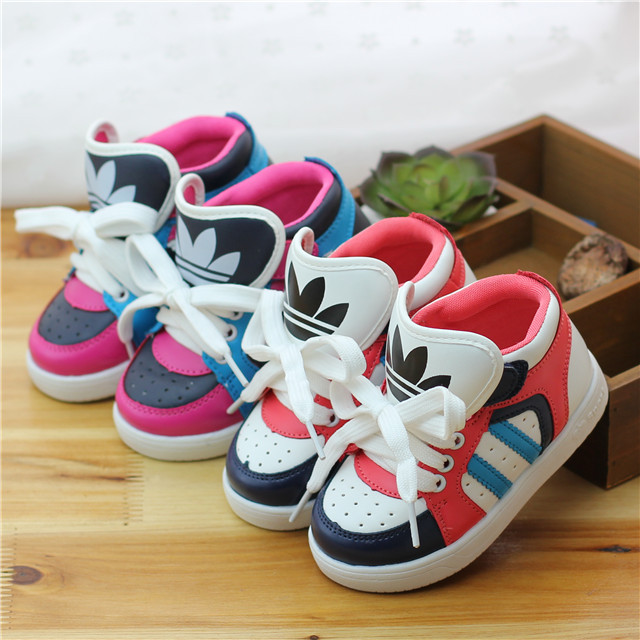 Children Sneakers 2014 Newest Boys Girls Running sneakers Brand Children Sports shoes size 21-36 Zapatillas Fashion kid's shoes(China (Mainland))
