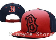 Classic Boston Red Sox Snapback Hat Sport Team Baseball Caps Letter B Embroidered Logo(China (Mainland))