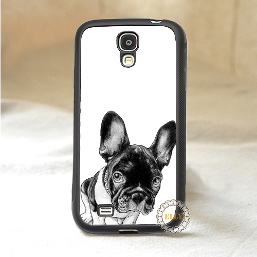french bulldog puppy fashion mobile phone case cover for Samsung galaxy S3 S4 S5 Note 2 Note 3(China (Mainland))