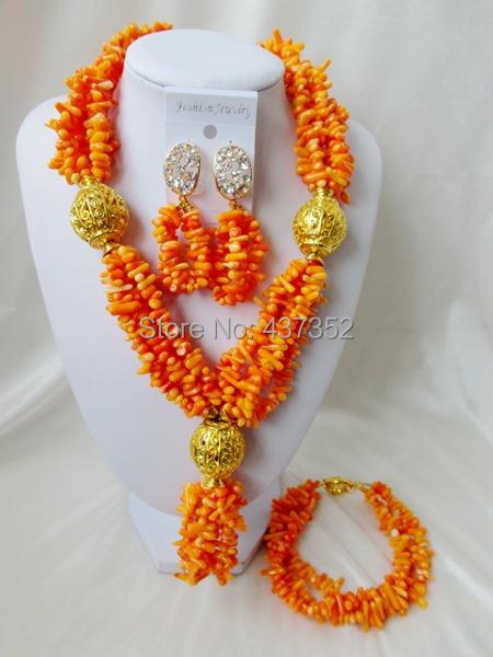 Splendid! Coral Beads Jewelry Set TC232<br><br>Aliexpress