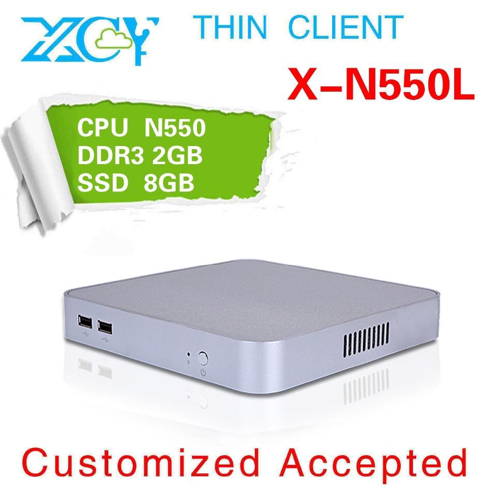 High-performance Powerful Energy-saving CPUs mini Desktop N550 Atom 1.5 GHZ Car mini pc 2GB RAM 500GB SSD WINS7 office pc(China (Mainland))