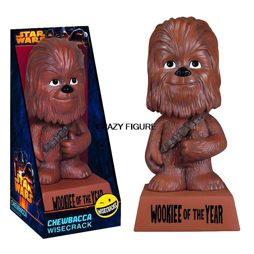 N- 2015 NEW Spot US imports Funko Wisecracks series Star Wars Chewbacca shook his head doll<br><br>Aliexpress
