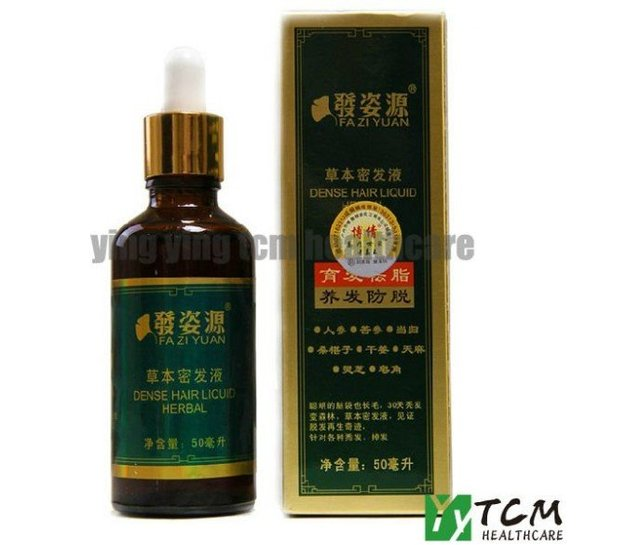 FAZIYUAN Herbal dense hair liqiud anti-loss 50ml growth