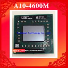 Lifetime warranty A10 4600M 2.3GHz Quad Core AM 4600 Notebook processors Laptop CPU Socket FS1 722 pin Computer Original